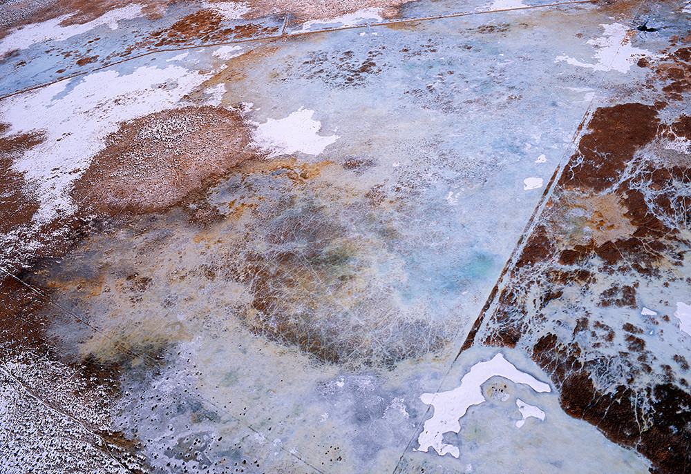 Winter Marsh Land Art | Fine Art New Mexico