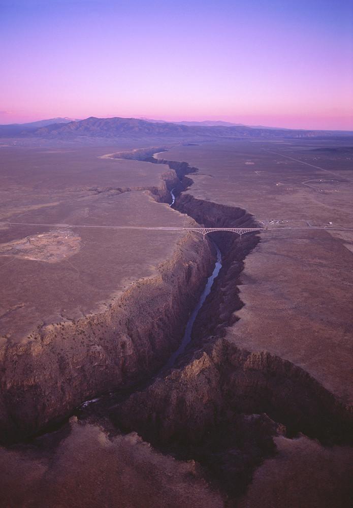 Gorge Bridge Sunrise 2013 Art | Fine Art New Mexico