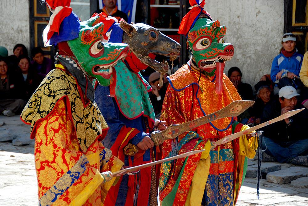 Tiji Festival Masks