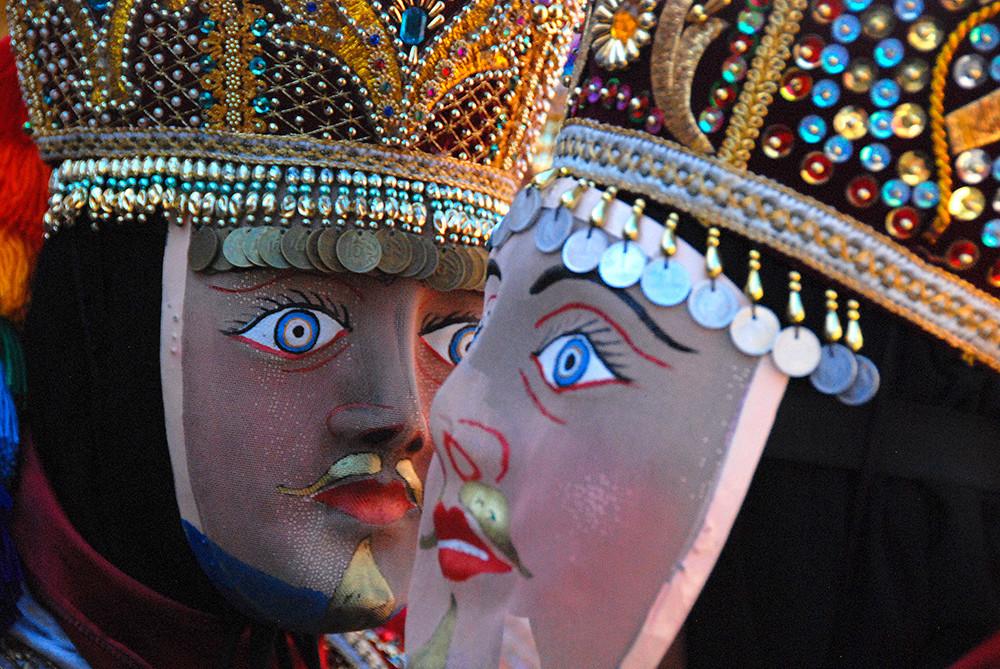 Paucartambo Festival Masks