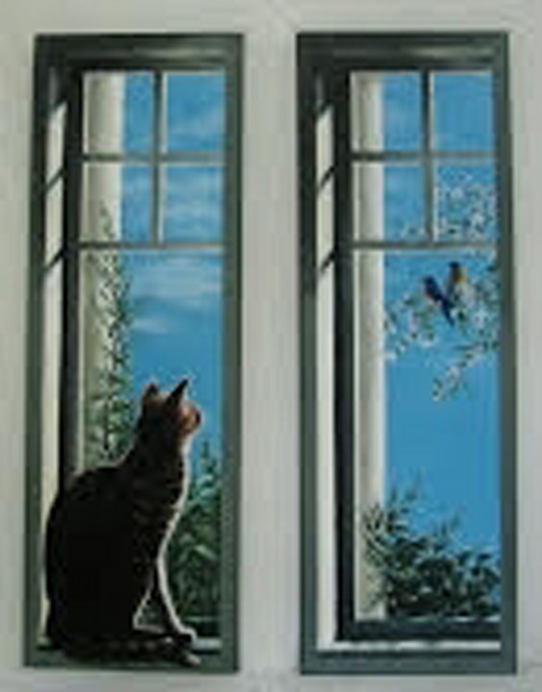 Safety Glass (Diptych)