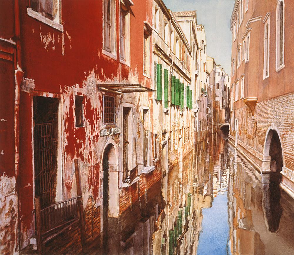 Hotel Villa Venezia, James Asher