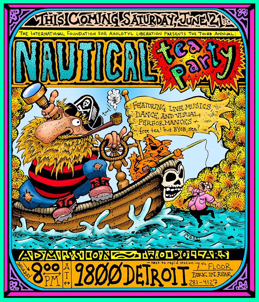 Nautical Tea Party