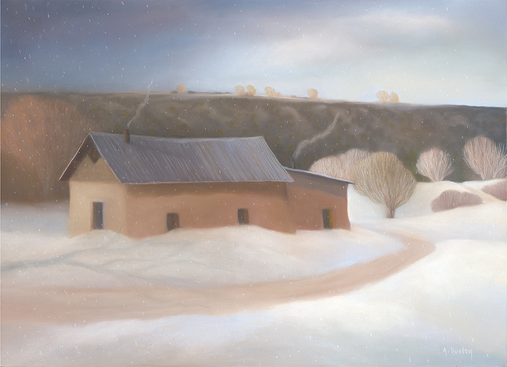 Winter Blue Art | Fine Art New Mexico