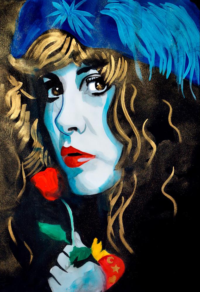Stevie Nicks Art | William K. Stidham - heART Art