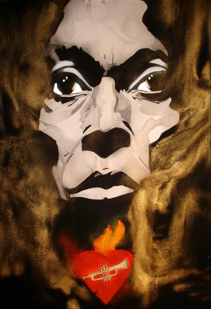 Miles Davis Art | William K. Stidham - heART Art