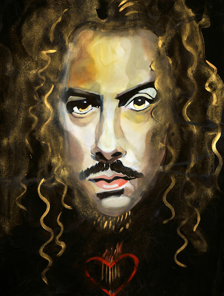 Kirk Hammett Art | William K. Stidham - heART Art