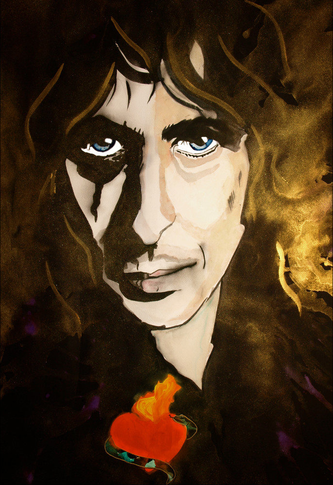 Alice Cooper Art | William K. Stidham - heART Art