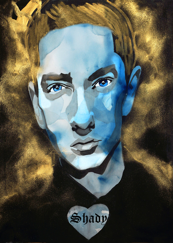 Eminem Art | William K. Stidham - heART Art