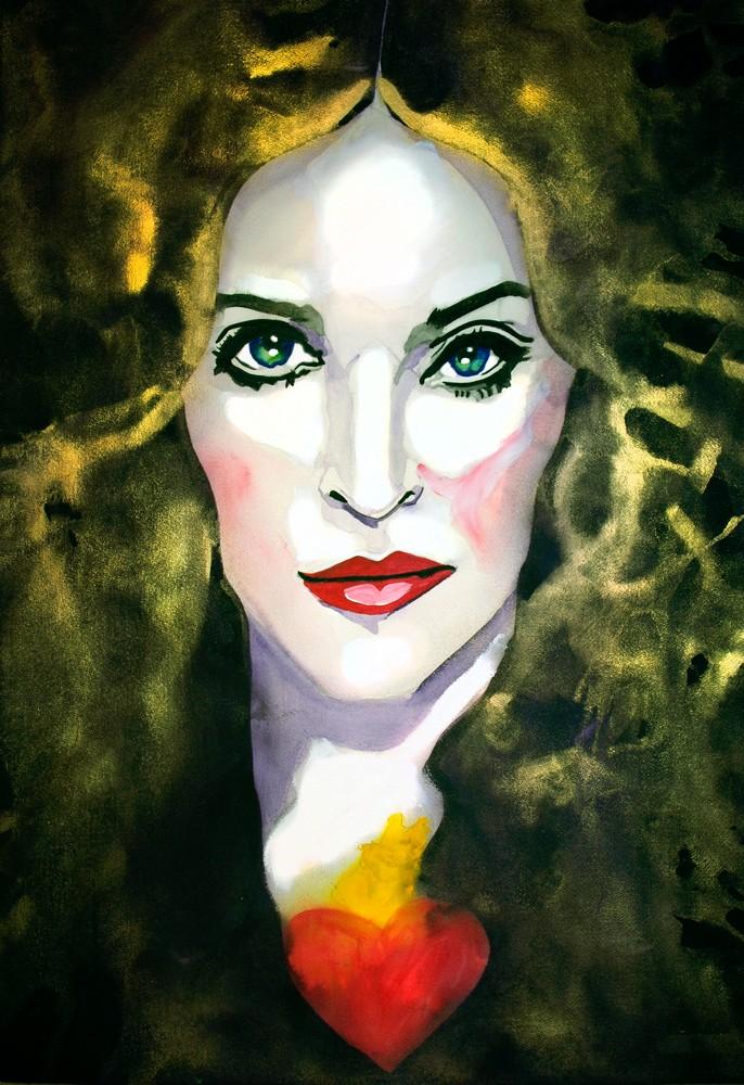 Madonna Art | William K. Stidham - heART Art