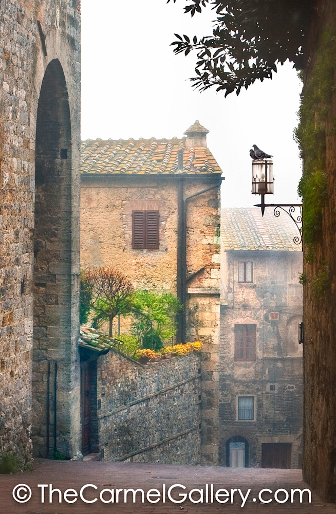 Quiet Streets of San Gigminano