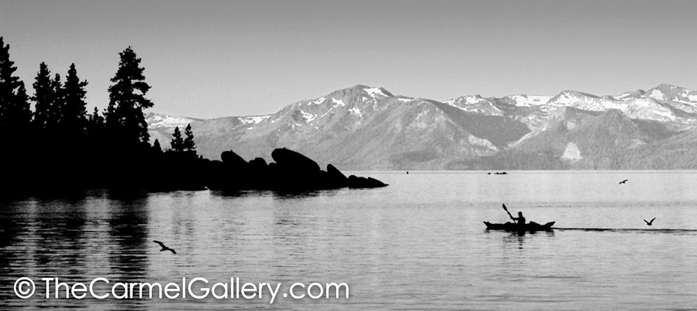 Early Morning Sand Harbor BW
