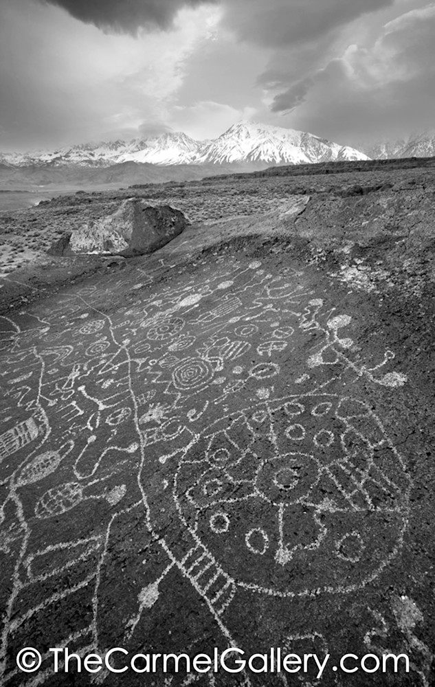 East Side Petroglyphs BW