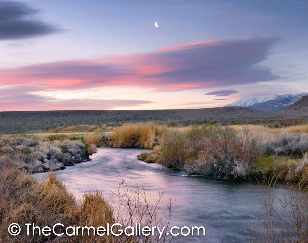 Moonrise Owens River