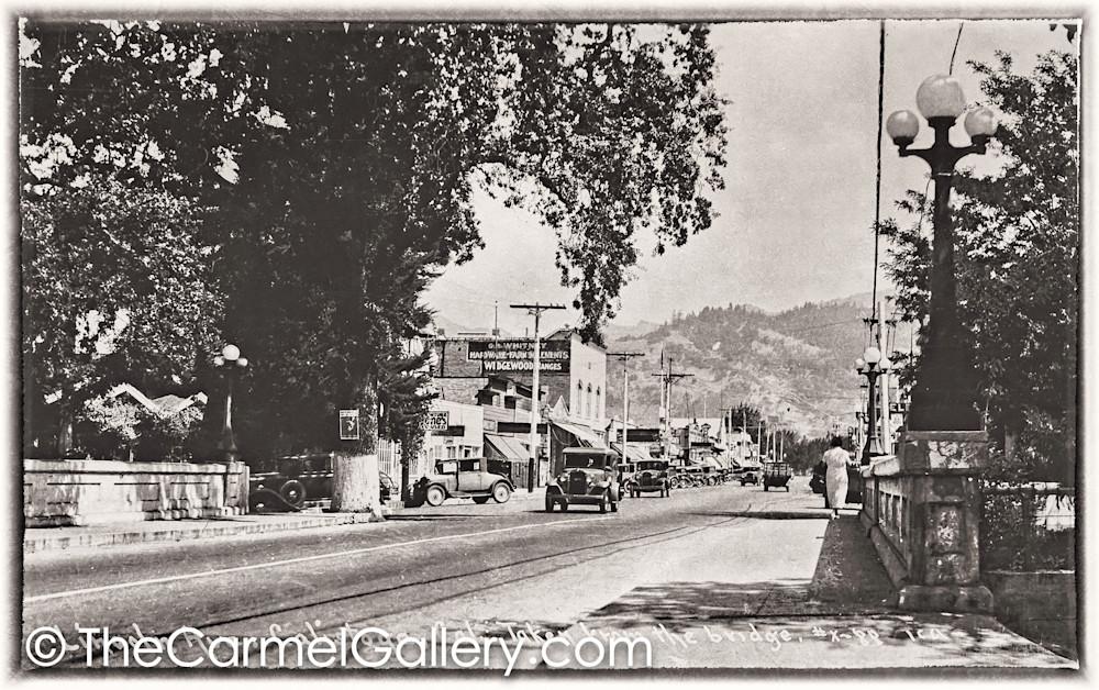 Bridge View Calistoga 1930's