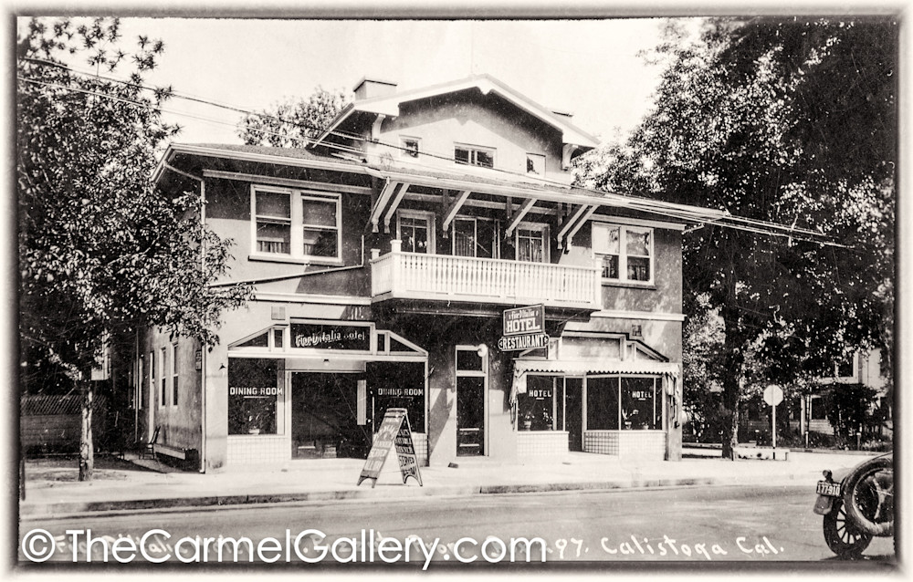 Calistoga Inn 1920's