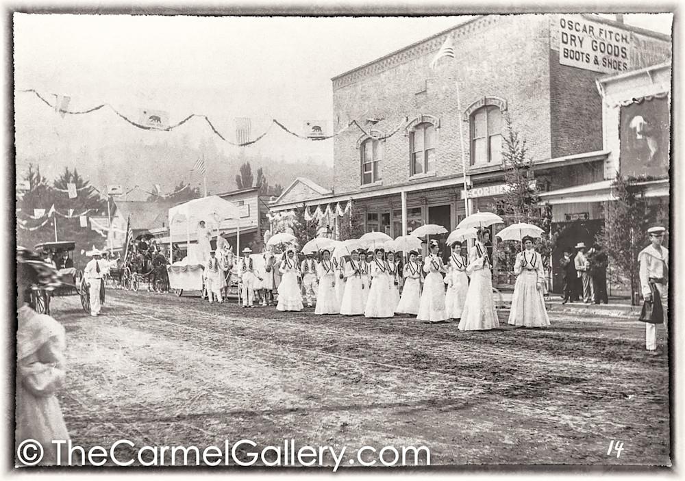 Ladies in White Calistoga 1890's