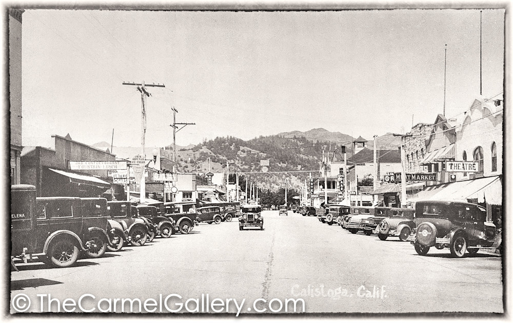 Lincoln Ave Autos 1930's