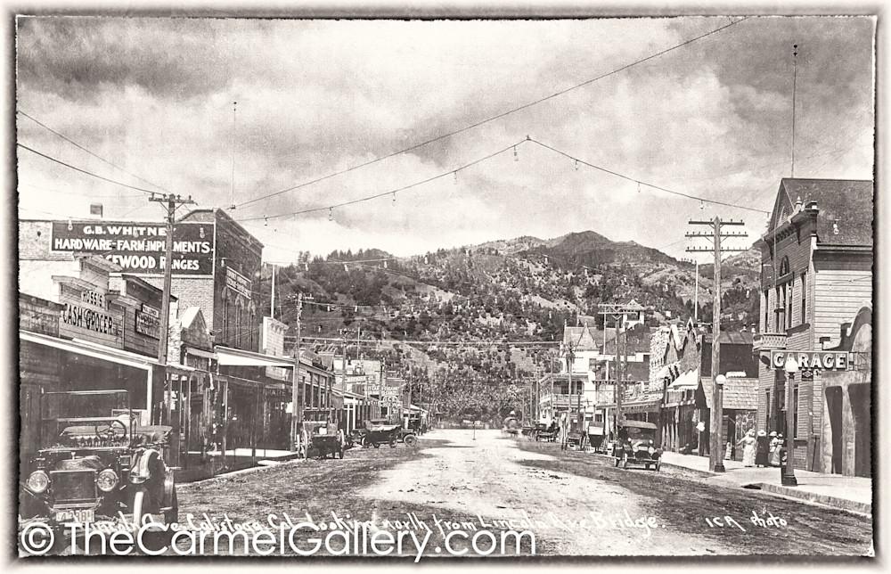 Lincoln Ave Calistoga 1920;s