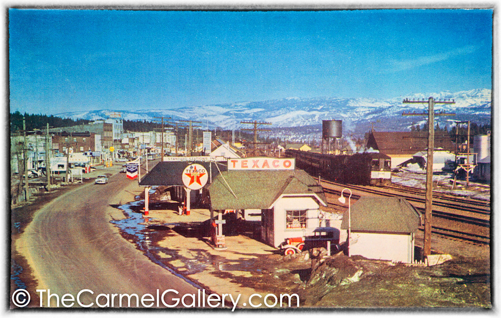 Truckee Main St 1950's