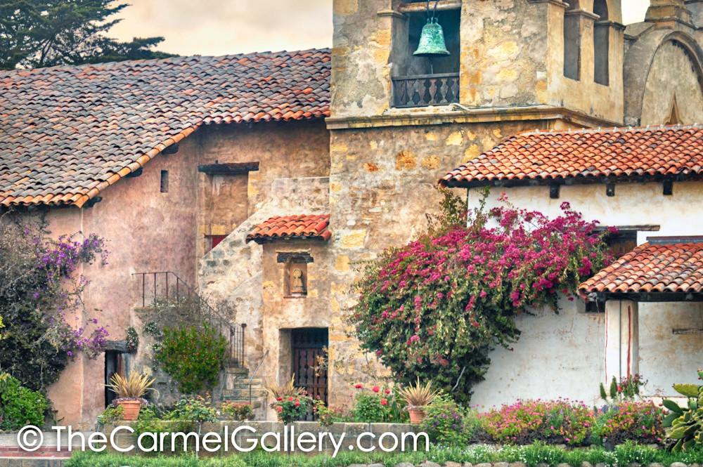 Spring Evening Carmel Mission