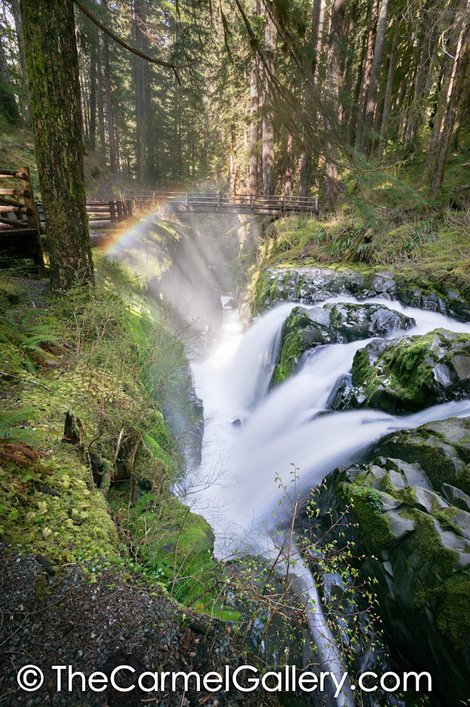 Sol Duc Olympic Waterfall