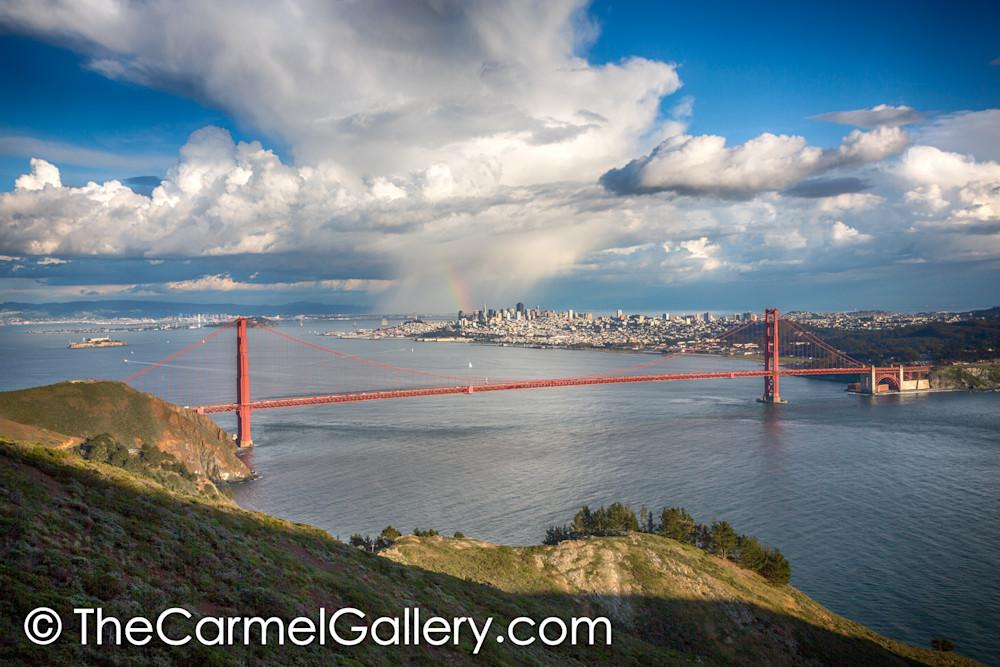 Storm Rainbow Golden Gate