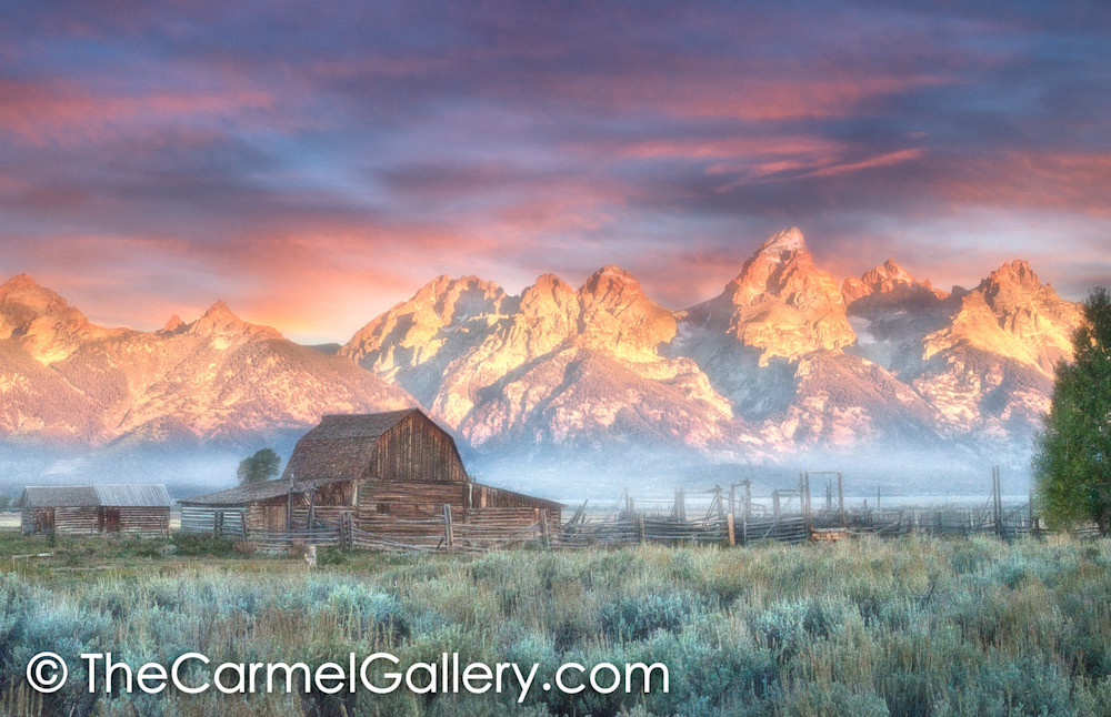 Grand Teton Homesteader Sunrise