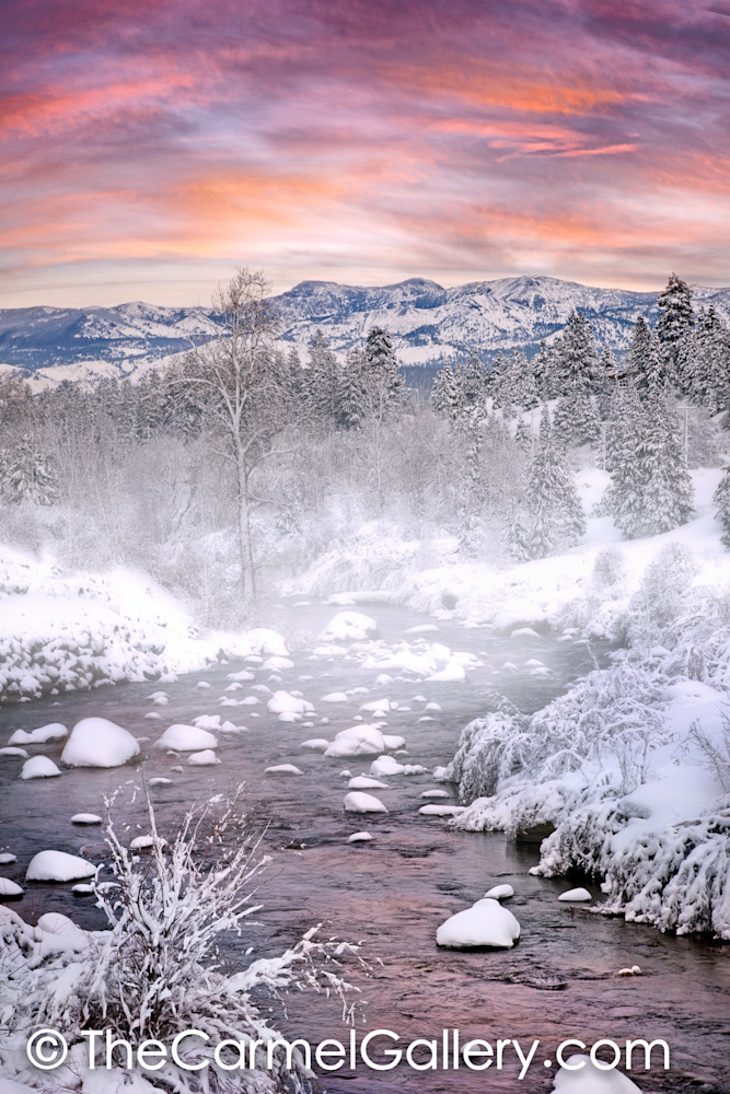 Winter Evening Truckee Rivers