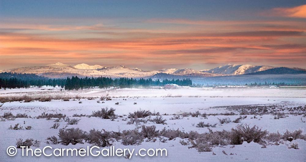 Winter Sunrise Martis Valley