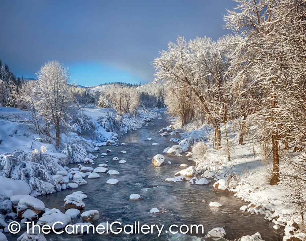 Winter Sun Truckee River
