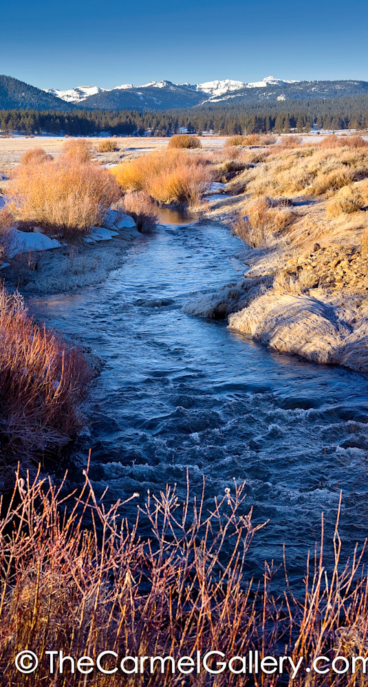 Morning Frost Martis Valley