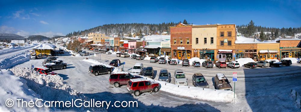 Truckee Winter Panorama