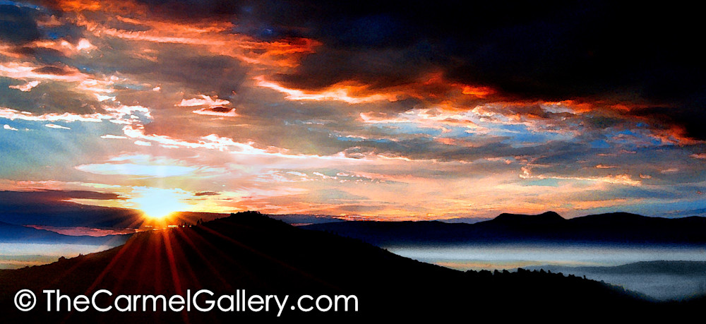 Sunrise over Mt. Rose
