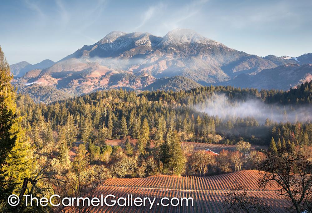 Winter Morning Mt St Helena