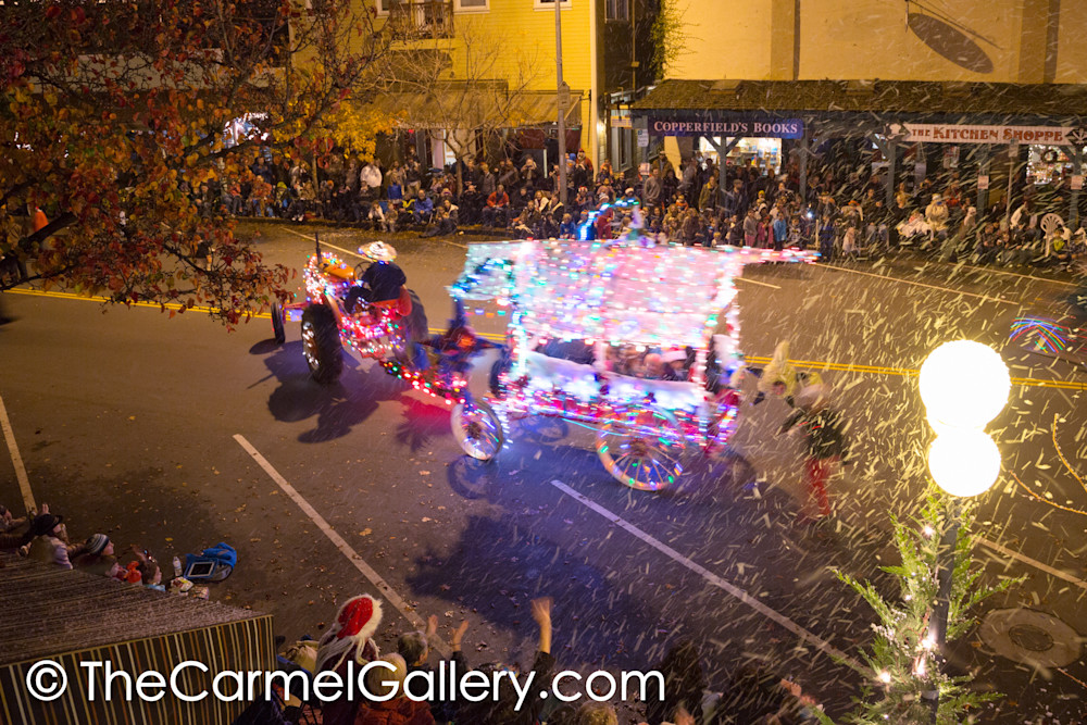 Lighted Tractor Parade 8