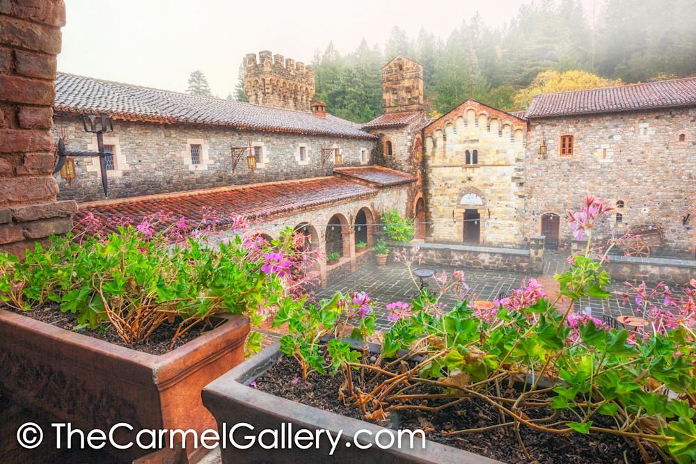 Autumn Rain, Castello di Amorosa
