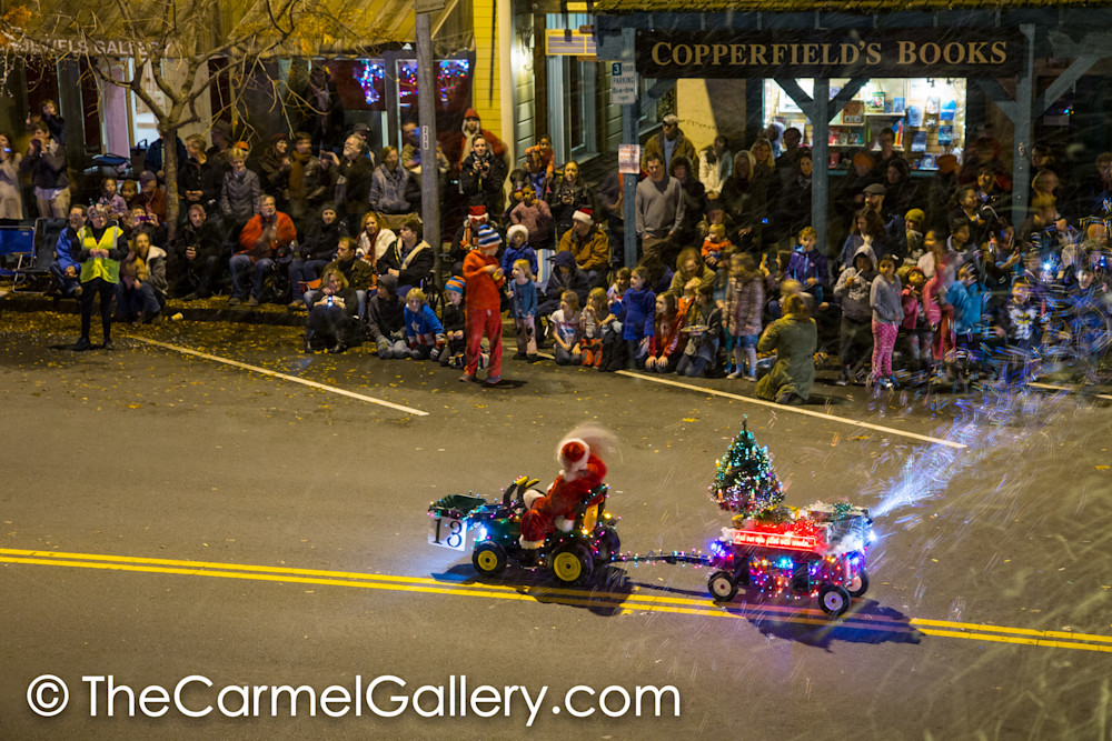 Lighted Tractor Parade 10