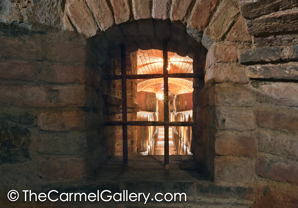 Castello Cellar Window
