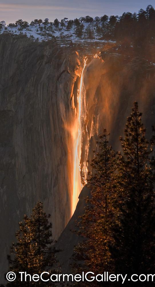 Horsetail Falls Yosemite