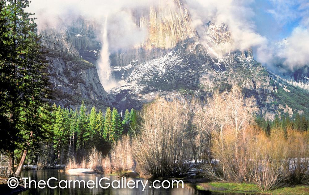 Parting Clouds, Yosemite Falls