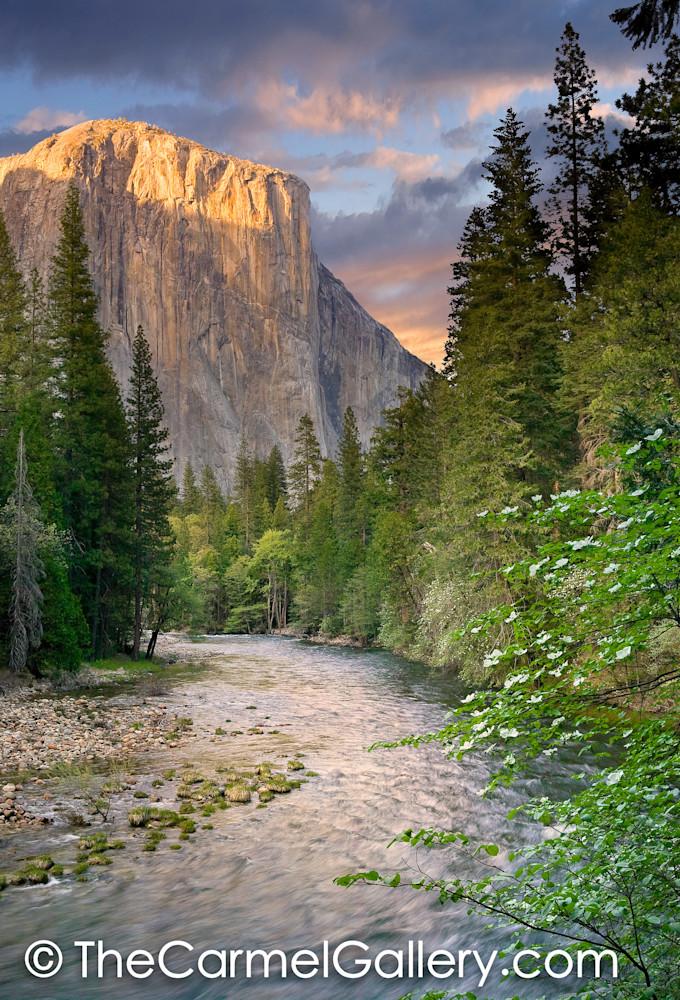 Spring Sunset El Cap
