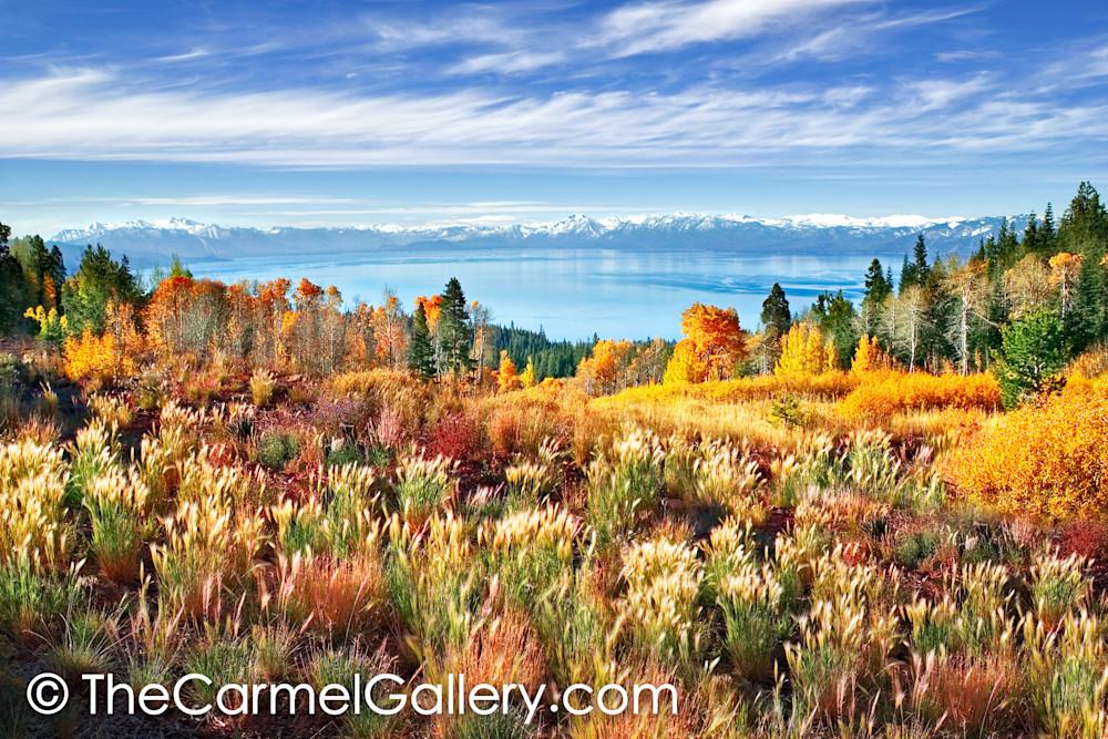 Autumn Morning Tahoe