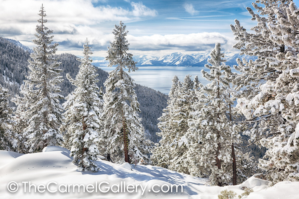 Clearing Tahoe Storm