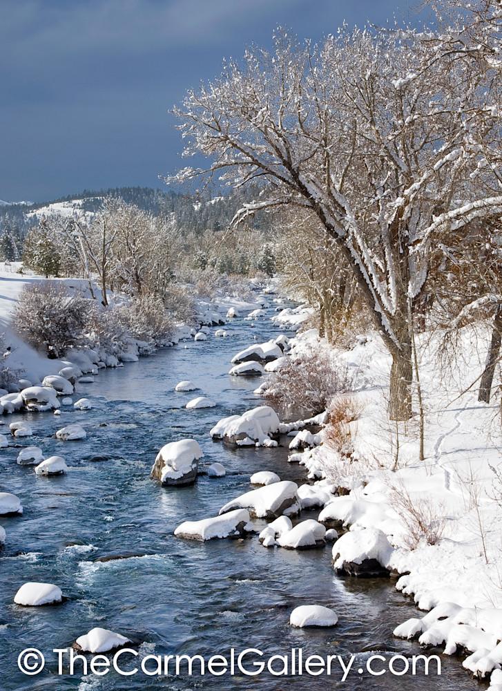 Winter Morning Truckee River