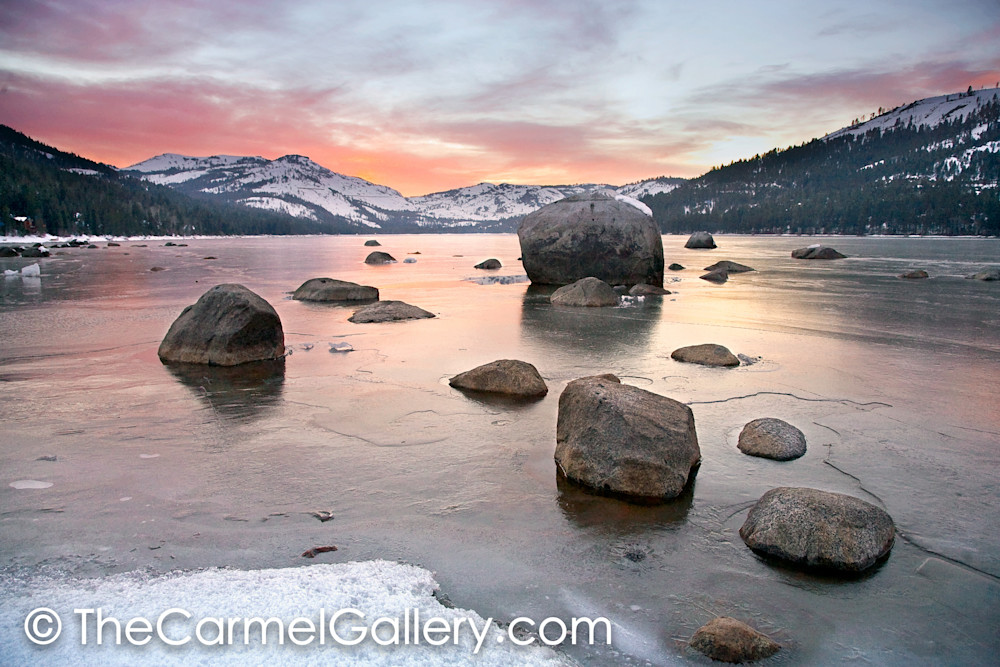 Donner Rocks Sunset