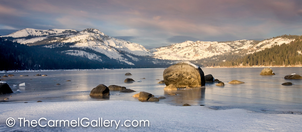 March Morning Donner Lake
