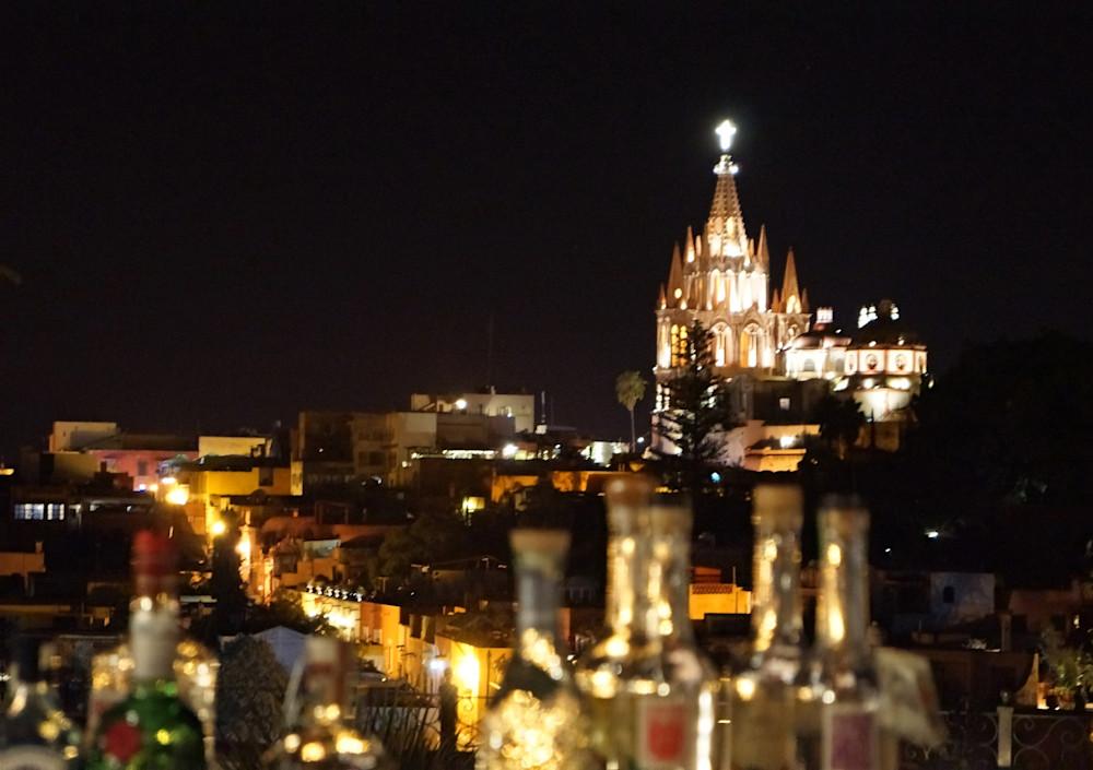 San Miguel Skyline Art | William K. Stidham - heART Art