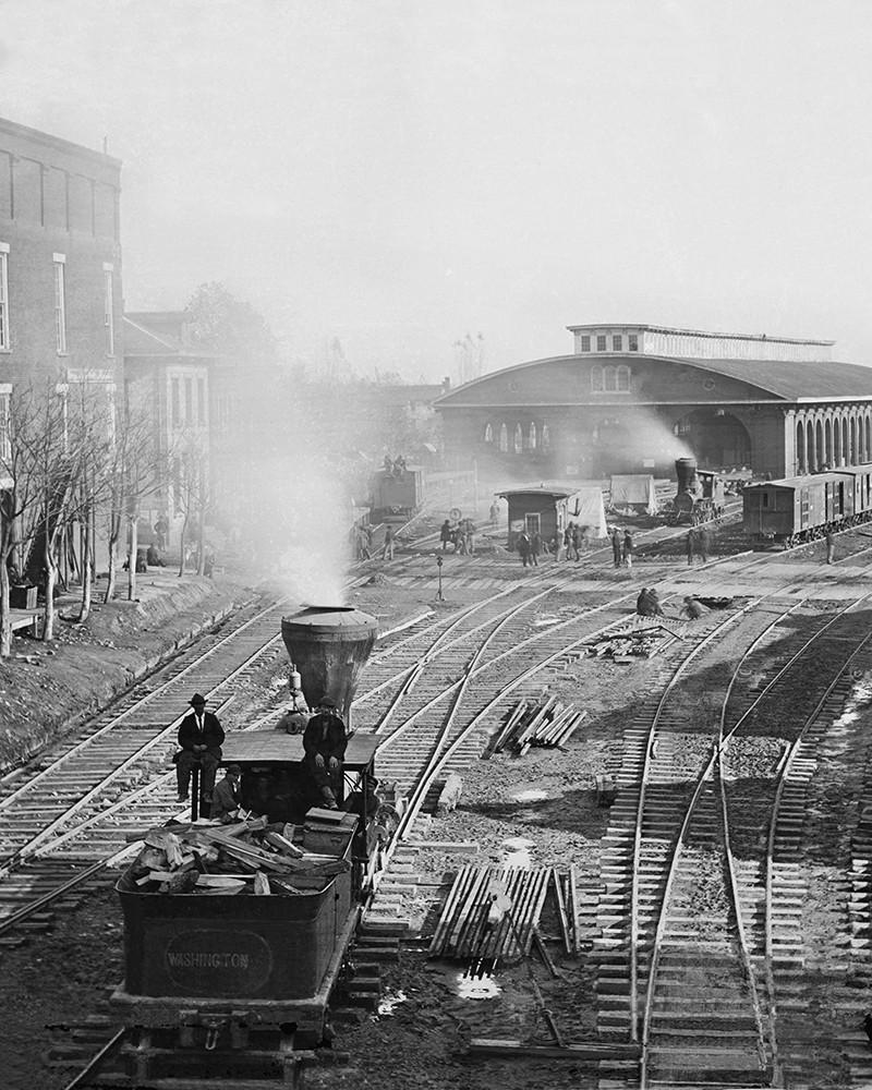 Atlanta Georgia Railroad Yard