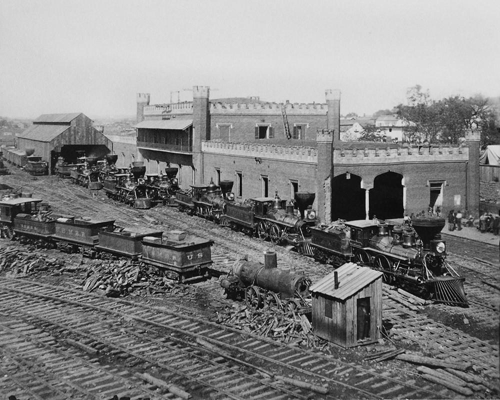 Railroad Depot In Nashville, TN